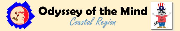 Coastal Region Odyssey of the Mind